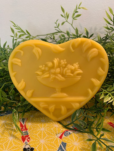 Beeswax Come To The Table Heart