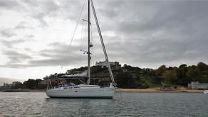 Vi seglar längs Costa Verde - Santander till Cedeira