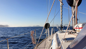 Islas Cies och Ria de Vigo