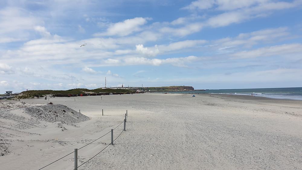 Flygplatsen ett stenkast från stranden