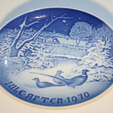 Kongelig Porcelæn juleplatte
