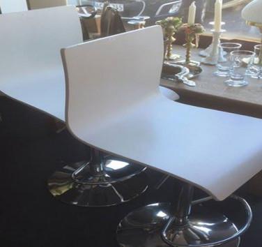 Moderne brugte barstole
