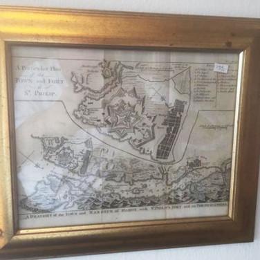 Antik landkort