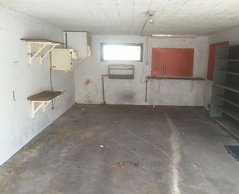 Rydning af garage Knebel