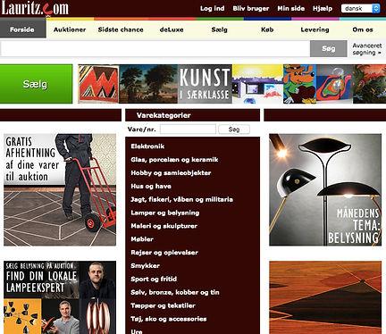 Lauritz.com auktionshus