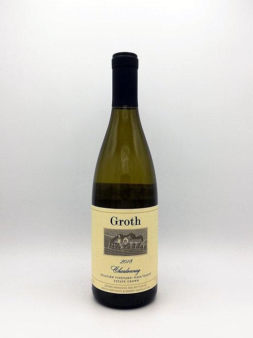 Groth, 'Hillview Vineyard', Chardonnay, Oakville, Napa Valley 2018