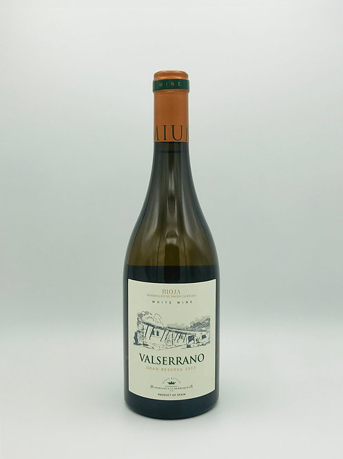 Valserrano Blanco Rioja Alavesa Gran Reserva 2013