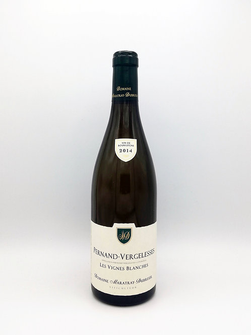 Pernand Vergelesses, Les Vignes Blanches, Domaine Maratray Dubreuil 2014