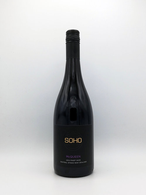 Soho, 'McQueen', Pinot Noir, Central Otago 2018