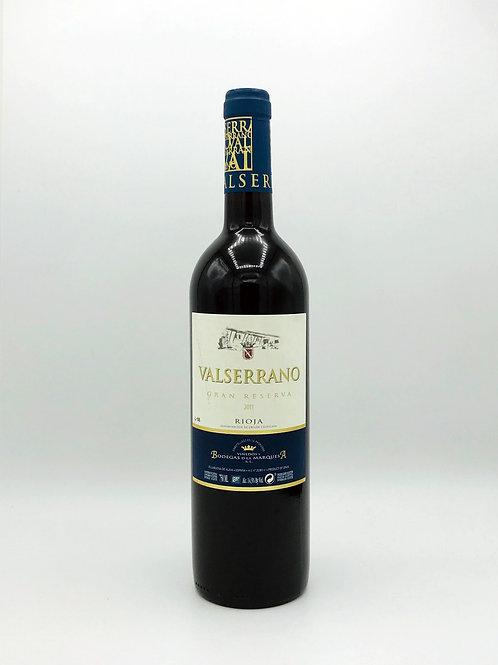 Valserrano, Grand Riserva, Rioja 2012