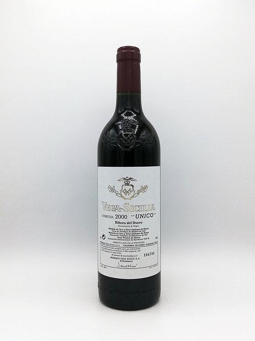 Vega - Sicilia, 'Unico', Ribera del Duero 2000