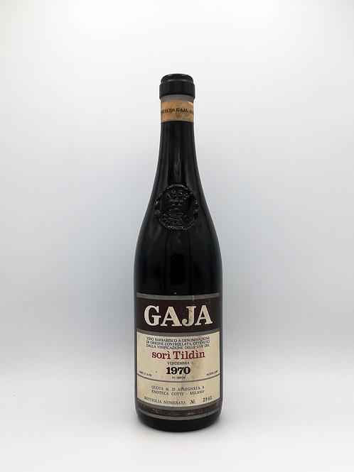 Gaja, Barbaresco, 'sori Tildin', Angelo Gaja 1970