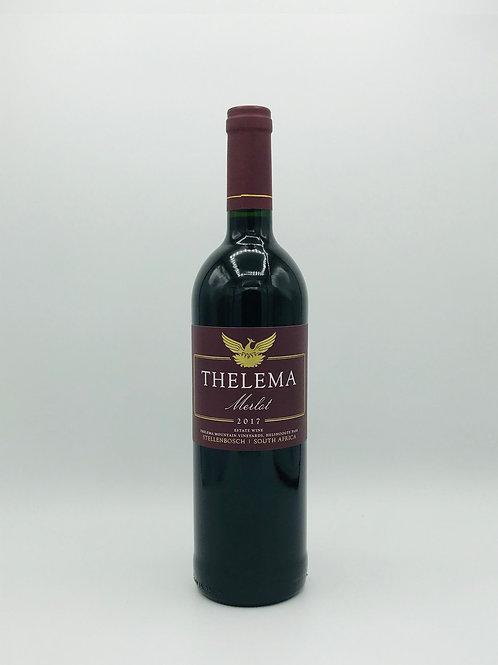 Thelema Merlot Stellenbosch 2017