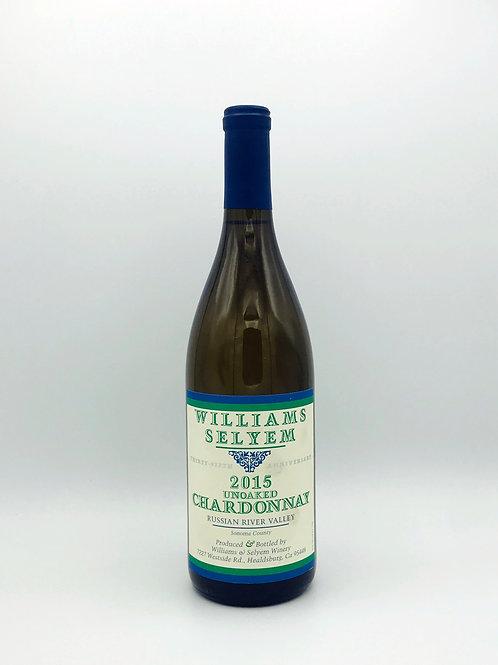 Williams Selyem 'Thirty-Fifth Anniversary' Unoaked Chardonnay Sonoma 2015