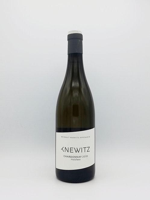 Knewitz, Chardonnay, Holzfass, Trocken 2018