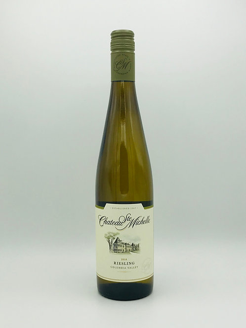 Chateau Ste. Michelle Riesling Columbia Valley Washington State 2018