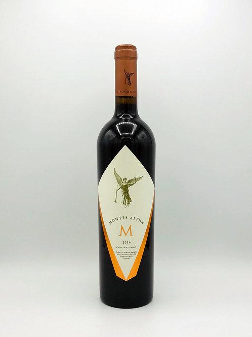 Montes Alpha 'M' Apalta Single Estate Bordeaux Blend Colchagua Valley 2014: