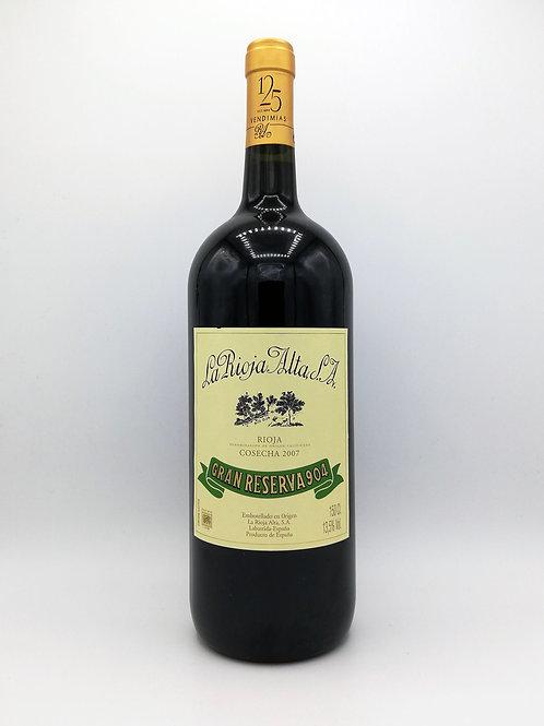 La Rioja Alta S.A., Gran Reserva 904, Rioja - Magnum 2007