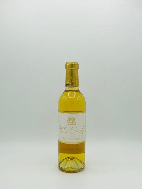 Clos Dady Sauternes 2014, Half Bottle