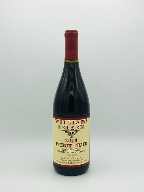 Williams Selyem, Pinot Noir, Russian River Valley, Sonoma County 2014