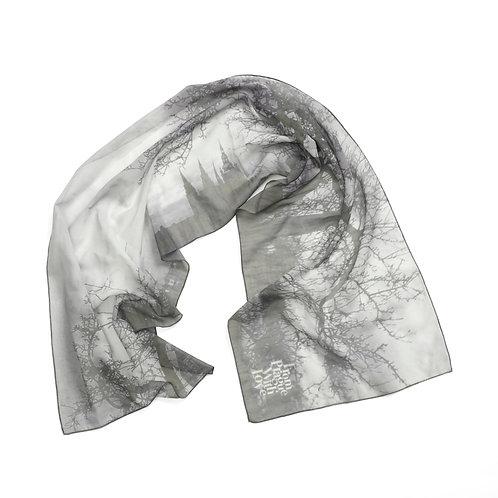 Prague castle scarf