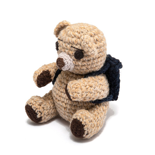 Knitted Teddy Bear (home made)