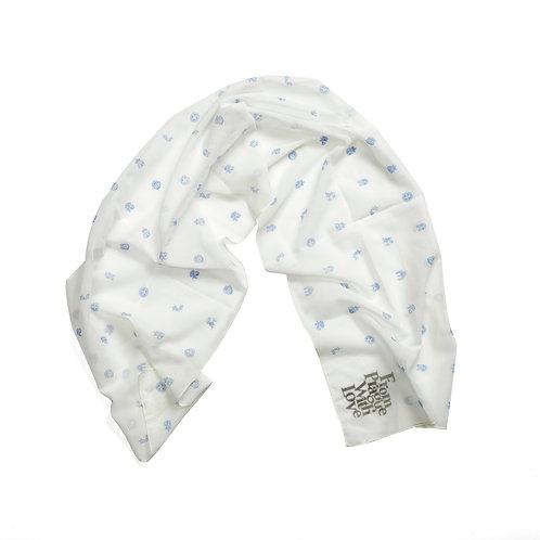Prague symbols scarf