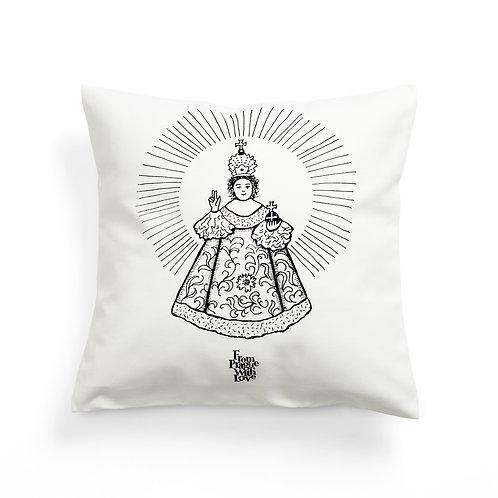 Prague's infant jesus cushion cover