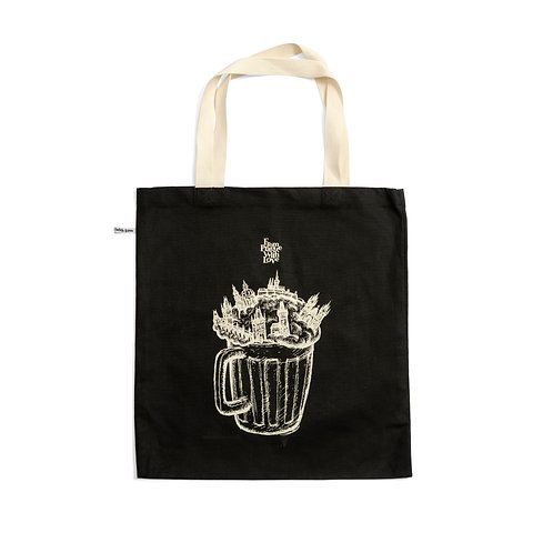 Cotton bag – The city of beer