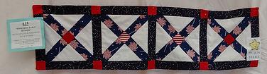 615 - David Watson - Pinwheel Table Runn