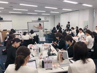 KOSE美容部員様向け研修会に出演致しました