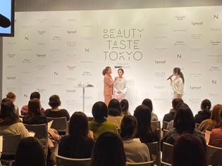 Beauty Taste TOKYOに出演いたしました