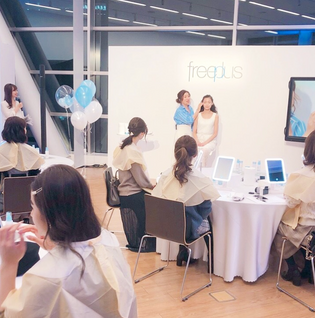 "freeplus ""Binkan"" Beauty Conditioning Loungeに出演しました"