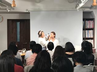 amritara メイクアップアイテム発表イベントに出演いたしました