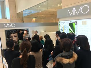 MiMC新宿高島屋店 10周年メイクイベントに出演いたしました