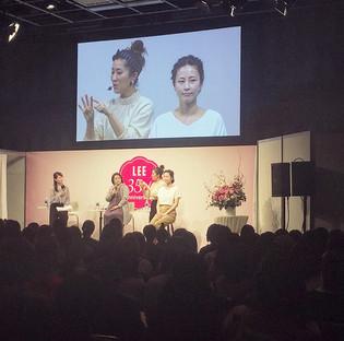 LEE創刊35周年イベント@表参道に出演いたしました