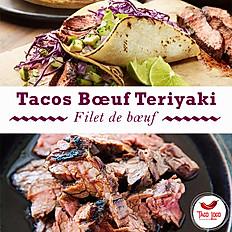 Tacos Boeuf teriyaki