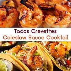 Tacos Crevettes +1€