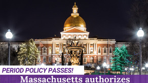 Coalition Update: Massachusetts Authorizes $500,000 for Menstrual Products in Shelters