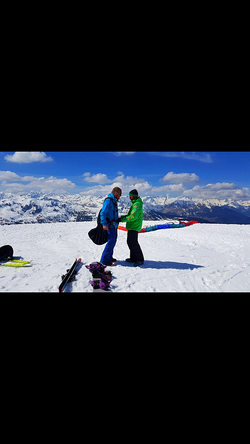 My French Physio Courchevel- Paragliding Courchevel