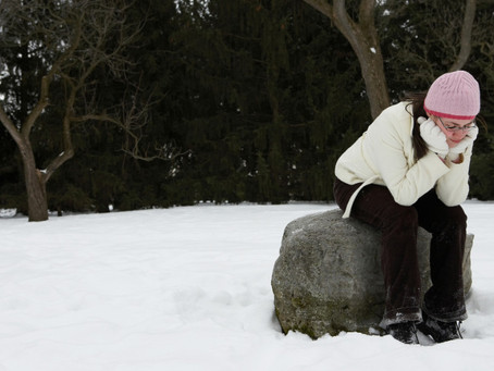 Season Mood : Winter Blues And Melancholiday