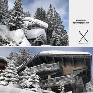 courchevel chalets for osteopathy physiotherapy