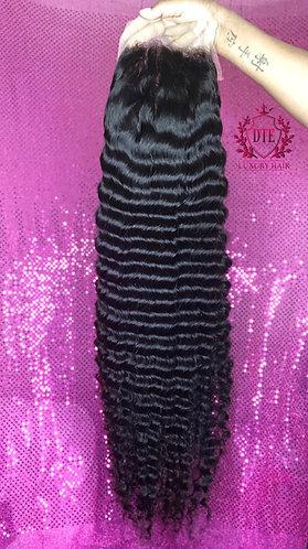 """Premium 28"""" Deepwavy frontal wig"""