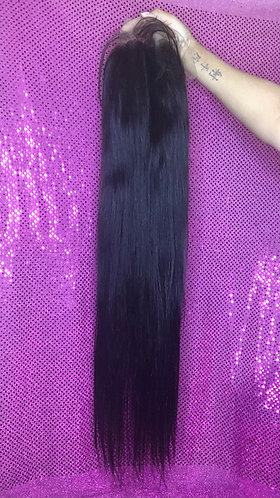 """13x4 26"""" straight frontal wig"""