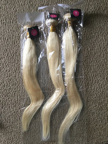 "20""22""24"" #613 blonde bundle set"