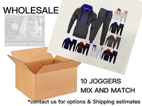 10 MIX AND MATCH JOGGERS +SHIP