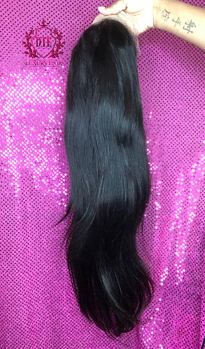 """13x4 20"""" straight frontal wig"""