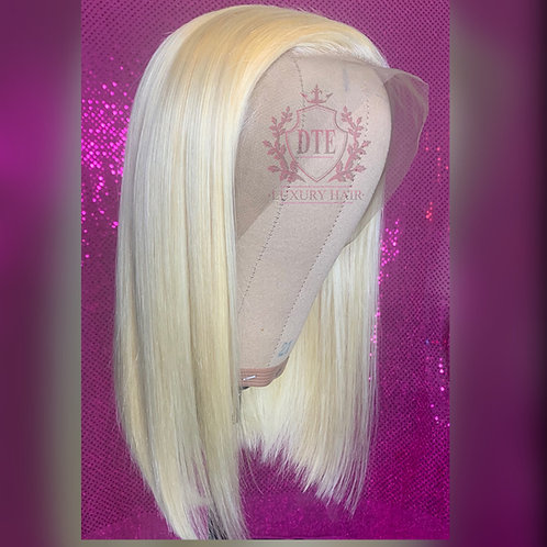 "Ready to install 14"" 613 lace frontal wig"