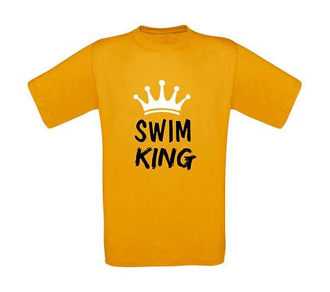 """Erwachsenen T-Shirt """"SWIM KING"""""""