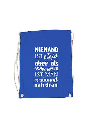 """Kopie von Gymbag """"NIEMAND IST PERFEKT"""""""